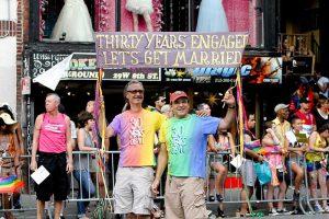 Gay pride parade, New York 2011
