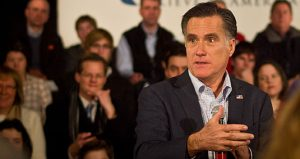 Romney on the campaign trail